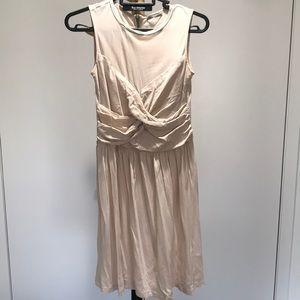 Bimba & Lola Cream Ruched Dress